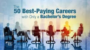 the 50 best paying careers with only a bachelor s degree the best