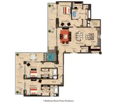 three bedroom suites las vegas