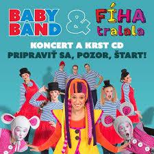 baby band baby band a fíha tralala koncert a krst cd ticketportal