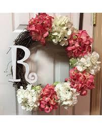 monogram wreath spectacular deal on initial wreath initial wreaths front door