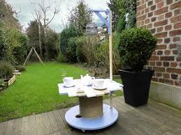 touret bois deco que faire avec un touret une table de jardin pardi