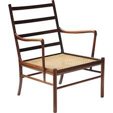 chaise coloniale chaise coloniale pj 149 en palissandre de ole wanscher 1940