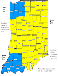Cst Time Zone Map by Indiana Time Zone Map 2017 Indiana Time Zone Map Indiana Time