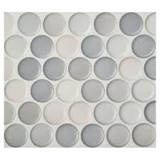 gray penny tile bathroom floor best bathroom decoration