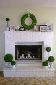 78 best painted white brick fireplaces images on pinterest white