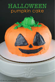 halloween pumpkin cake mom loves baking