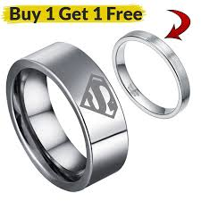 superman wedding rings online get cheap tungsten superman wedding rings aliexpress