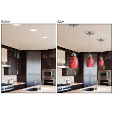 kit to convert recessed light to pendant home lighting 31 change recessed light to pendant change recessed