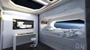 spaceship bedroom spaceship crew room 3d models for poser and daz studio
