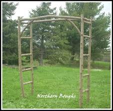 wedding arches supplies white cedar wedding arch kit large rustic wedding arch garden