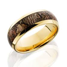 titanium gold rings images Lashbrook king camo 14 karat gold camo ring 8mm png