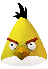 angry birds yellow bird mask halloween costumes