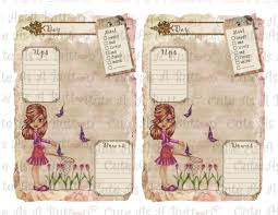 printable planner diary plr00004 printable winter planner 8 5 x 11 inch cute as a button