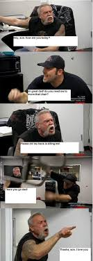 Dad Reading Newspaper Meme - why american chopper is the smartest meme of 2018