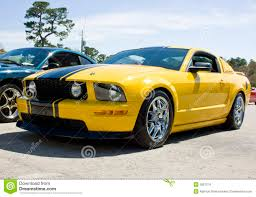 2008 Black Mustang Gt 2008 Ford Mustang Gt Yellow Stock Images Image 6057314