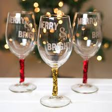 halloween goblets diy christmas wine glasses