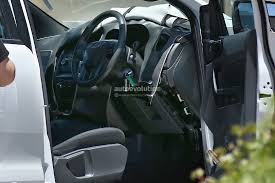 Ford Everest Facelift 2015 Ford Ranger Interior Spied Autoevolution