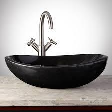 fresh free granite vessel sinks bathroom 18863