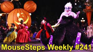 mousesteps weekly 241 disneyland mickey u0027s halloween party