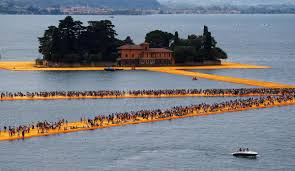 Floating Piers by Christo U0027s U201cfloating Piers U201d Installation On Lake Iseo Most Visited