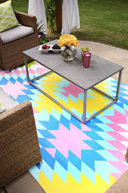 Painting An Outdoor Rug 79 Best Diy Floor Coverings Images On Pinterest Back Porches