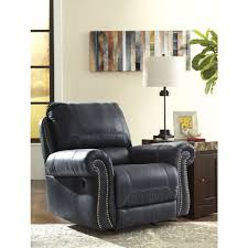 ashley furniture milhaven power rocker recliner in navy local