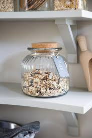 cornbury cookie jar with cork lid and slate tag glass garden