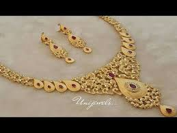 jewelry for new new model 1grm gold necklace with price list