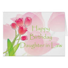daughter in law greeting cards zazzle