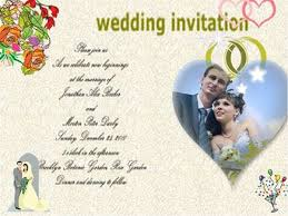 wedding invitation program how to make a wedding invitation card with picture collage maker pro