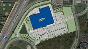 ikea breaks ground for fishers store