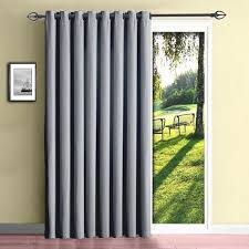 Slider Door Curtains Patio Sliding Doorn Panels Insulatedns With Wand For 42 Beautiful