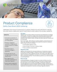 product compliance comply with regulations such as reach and ghs