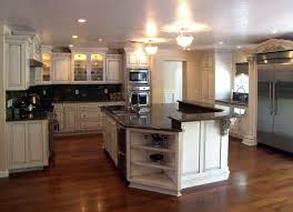 Custom Kitchen Cabinets Online Kitchen White Cabinets Black Granite What Color Backsplash Home