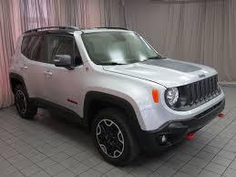jeep renegade white 2017 used jeep renegade trailhawk 4x4 at north coast auto mall