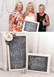 baby shower photo booth ideas modern lilac gray baby shower hostess with the mostess