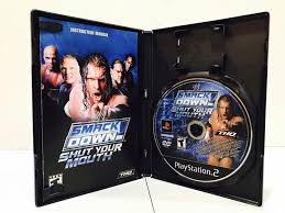 wwe smackdown shut your mouth sony playstation 2 2002 ebay