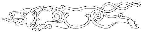 celtic pictish wolf ink design by scyndariel on deviantart