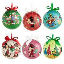 disney ornaments sets disney mickey friends dcoupage