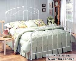 beds white wrought iron bed frames queen size white wrought iron