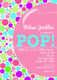 she u0027s about to pop baby shower invite dimple prints shop
