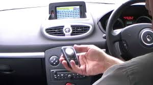 how to operate the sat nav in a renault clio 1 2 tce gt line 3dr