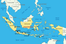 New Zealand On World Map Teach English In Indonesia Teaching Jobs In Indonesia