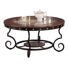 wrought iron coffee table with glass top table designs
