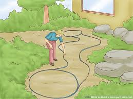 How To Build A Backyard How To Build A Backyard Waterfall 11 Steps With Pictures
