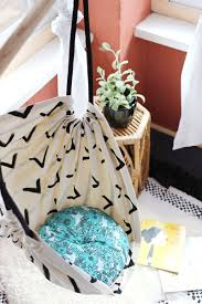 diy tutorial make this hammock chair for your porch or kid u0027s room