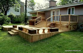 mobile home yard design wood decks for mobile homes patio deck design www patios clotures