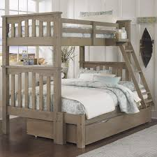 Bunk Bed With Trundle Ne Highlands Mission Style Bunk Bed