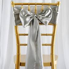 Chair Sash Rental Satin Silver Chair Sash Rental Vancouver Wa Rent Satin Silver