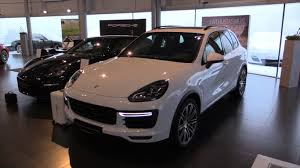 porsche cayenne interior porsche cayenne turbo 2016 in depth review interior exterior youtube